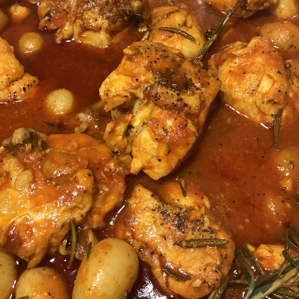 Chicken Bouillabaisse . Back to Basics . Week 19