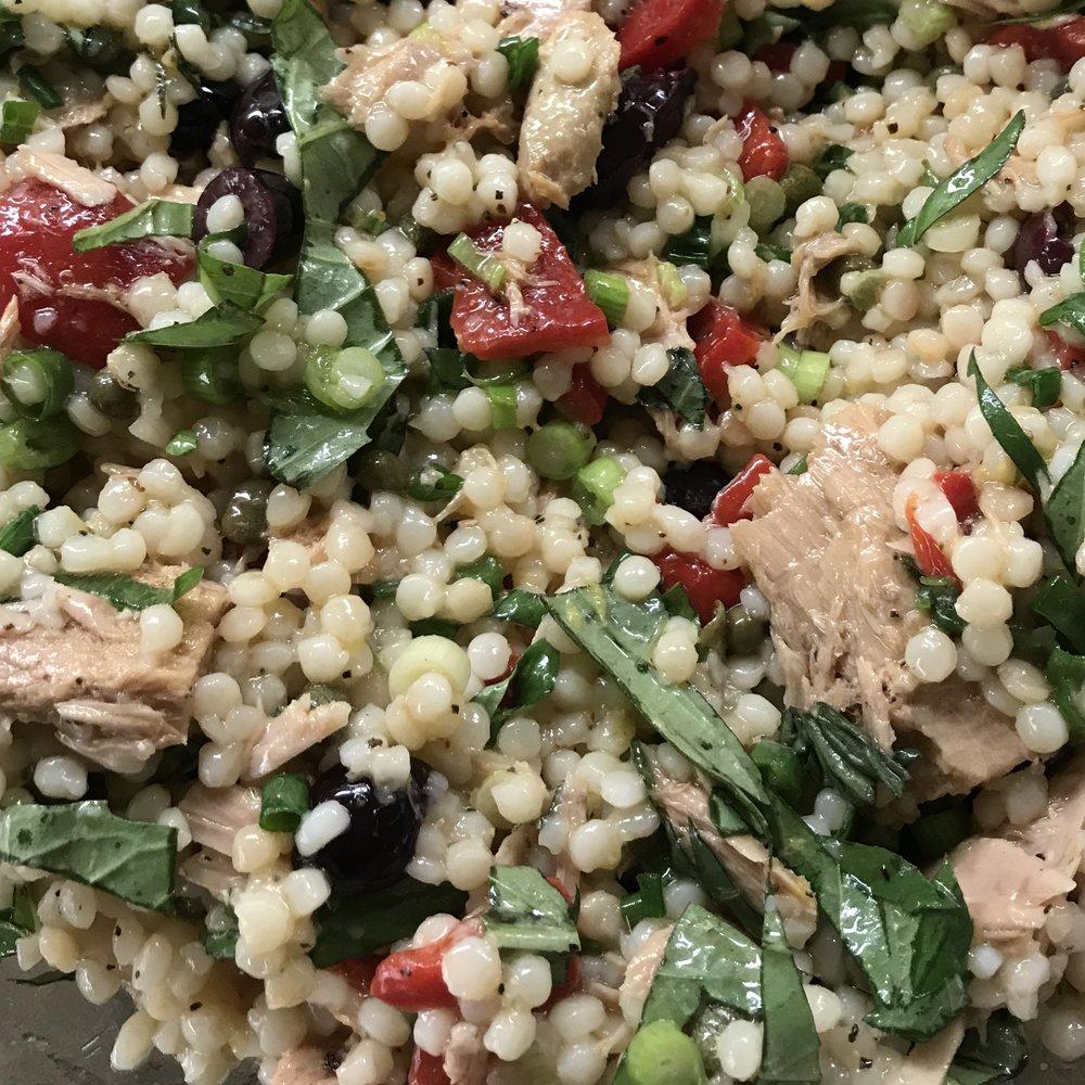 Israeli Couscous & Tuna Salad , Barefoot Contessa Foolproof . Week 22