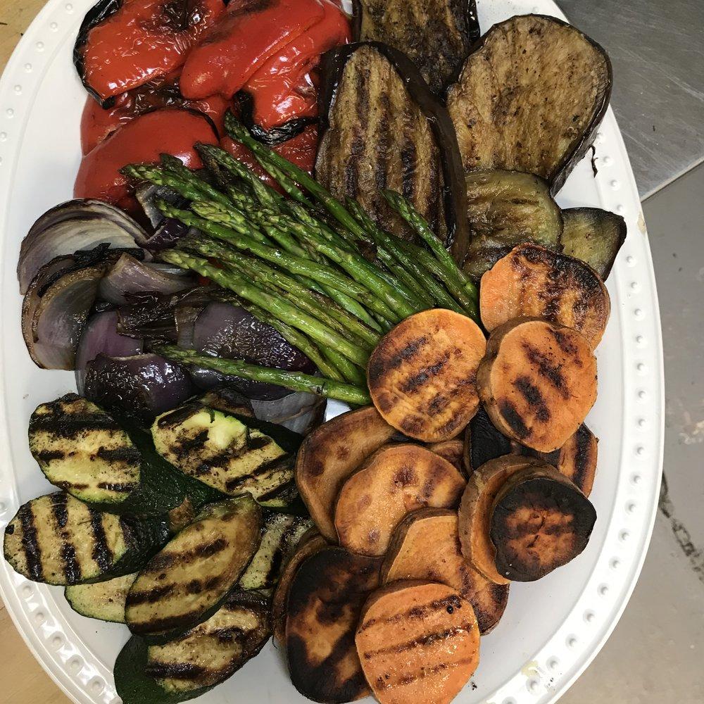 Vegetable Platter . Barefoot Contessa Cookbook . Week 22