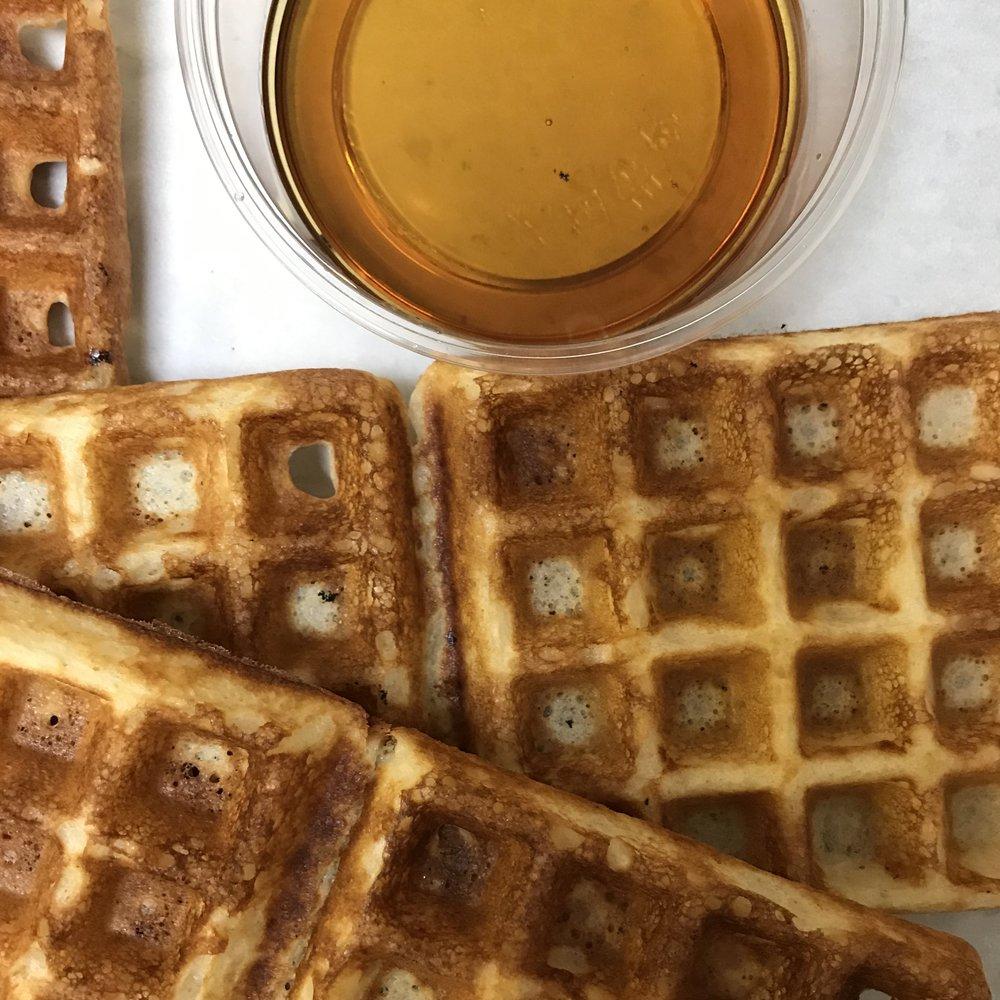 Overnight Belgian Waffles . Make It Ahead . Week 22
