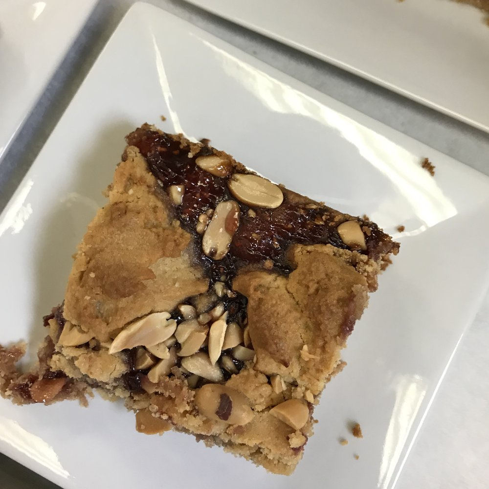 Peanut Butter and Jelly Bars . At Home . Week 23