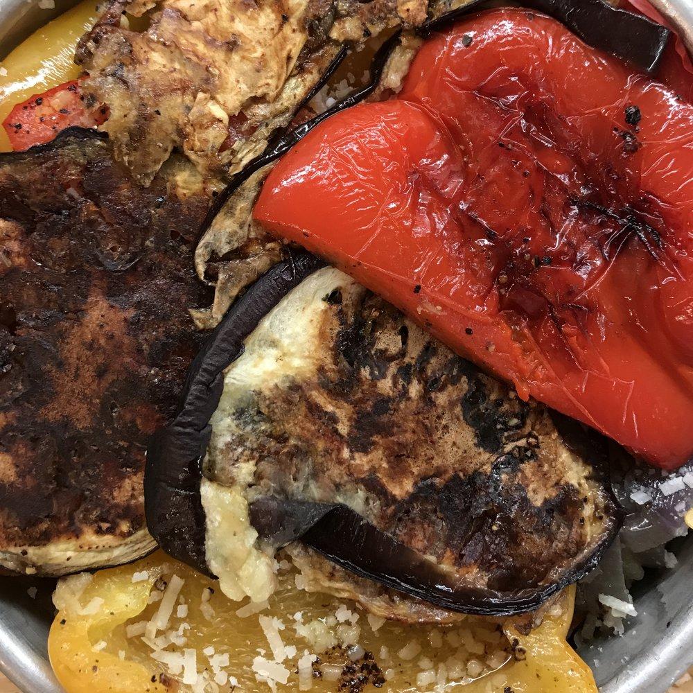 Roasted Vegetable Torte . Barefoot Contessa Cookbook . Week 23