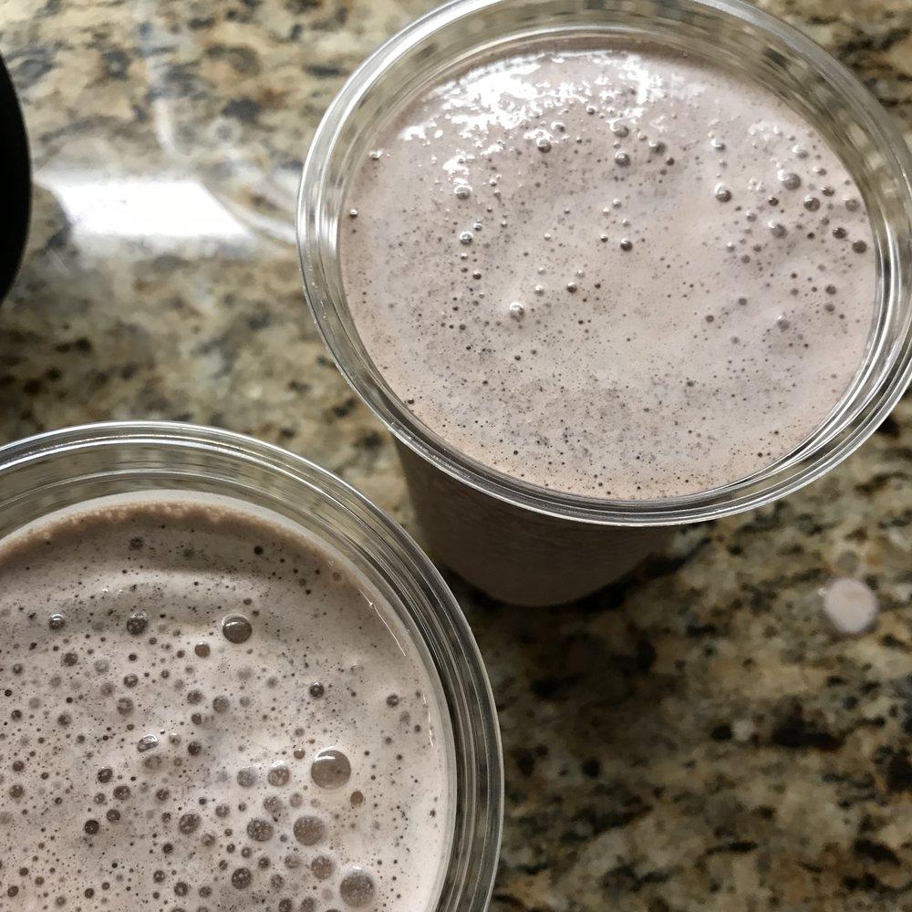 Frozen Hot Chocolate . Cooking for Jeffrey . Week 25
