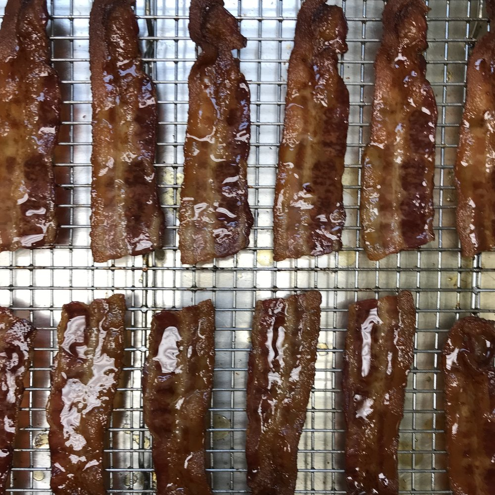Maple Roasted Bacon . At Home . Week 25