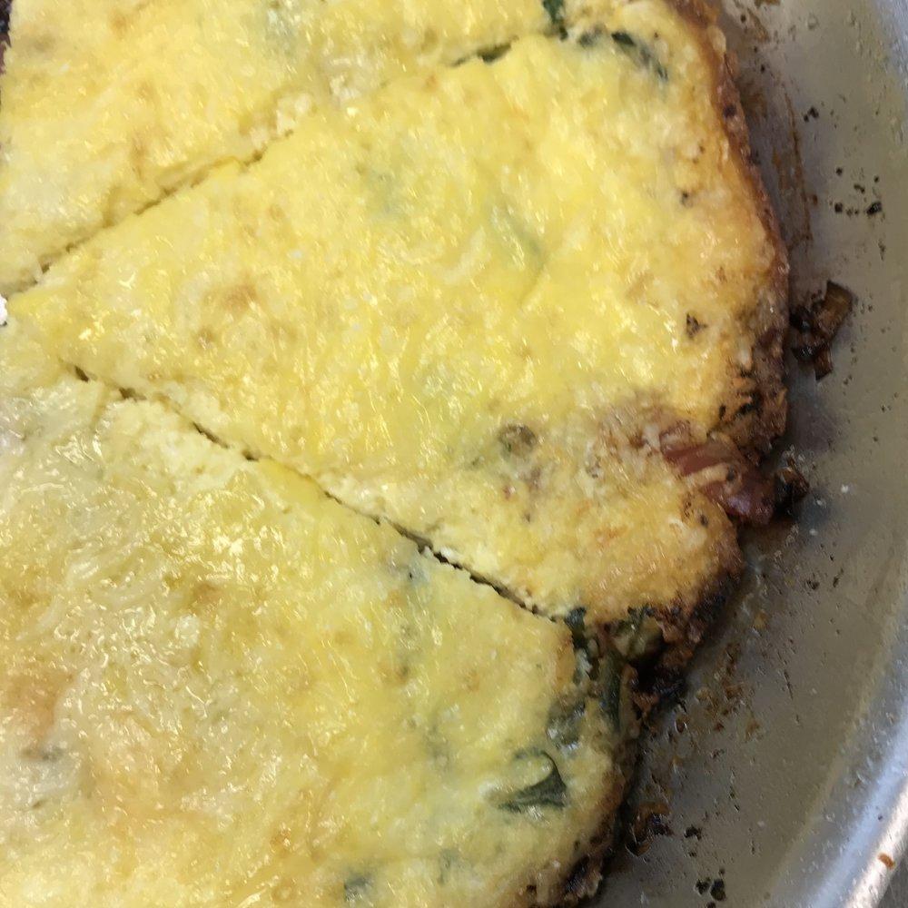 Zucchini & Leek Frittata . Cooking for Jeffrey . Week 25