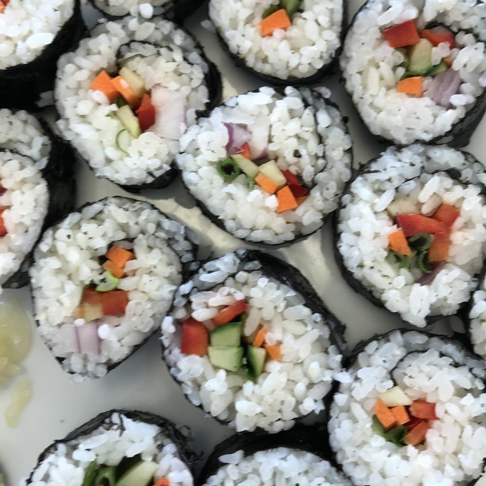 Vegetable Sushi . Barefoot Contessa Cookbook . Week 26