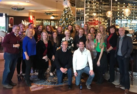 The Caravus team recently held their annual holiday party at 801 Fish in Clayton.