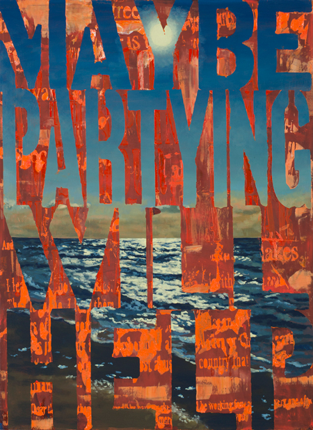 Maybe Partying Will Help - Paintings by Joe WardwellOctober 19th - November 11th, 2016