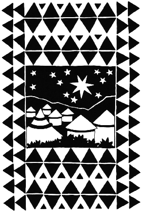 Starry sky  Available as signed giclee print 26cm high x 20cm wide (no mount)