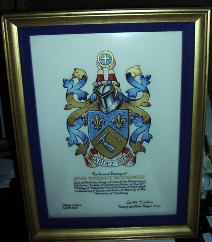 Grant of Arms from the College of Arms