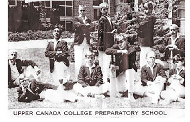 Upper Canada College Preparatory School First Cricket Team, 1964