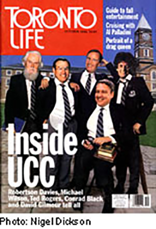 Cover of Toronto Life Magazine, October 1994
