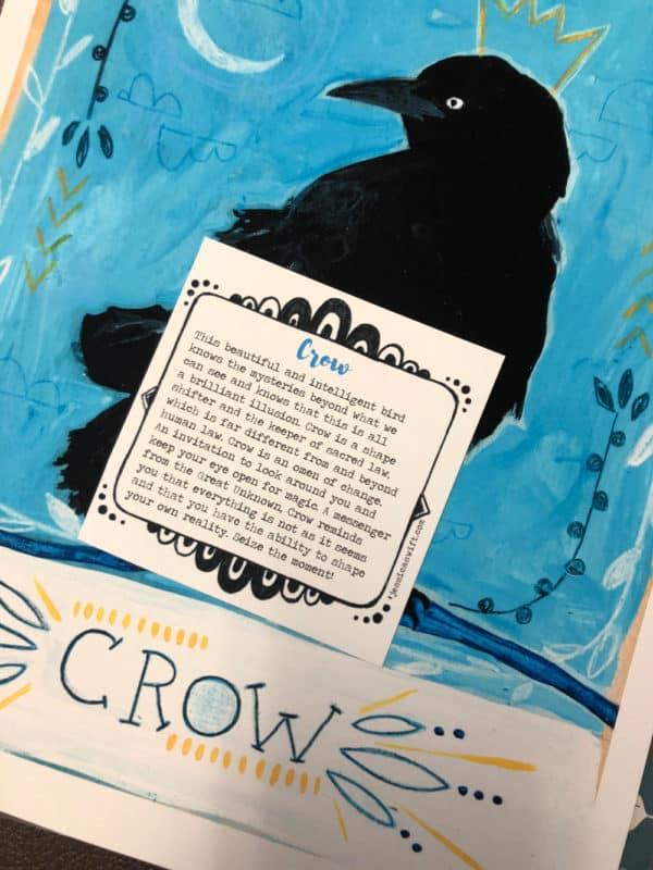 jessica swift crow print