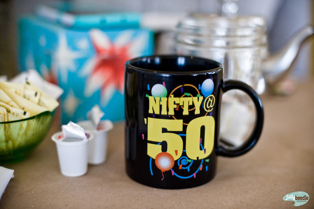2/28 Brunch with Chem | shooting with the nifty 50 and my coffee comes to me in this mug | Sinful Kitchen | Portland, Maine.