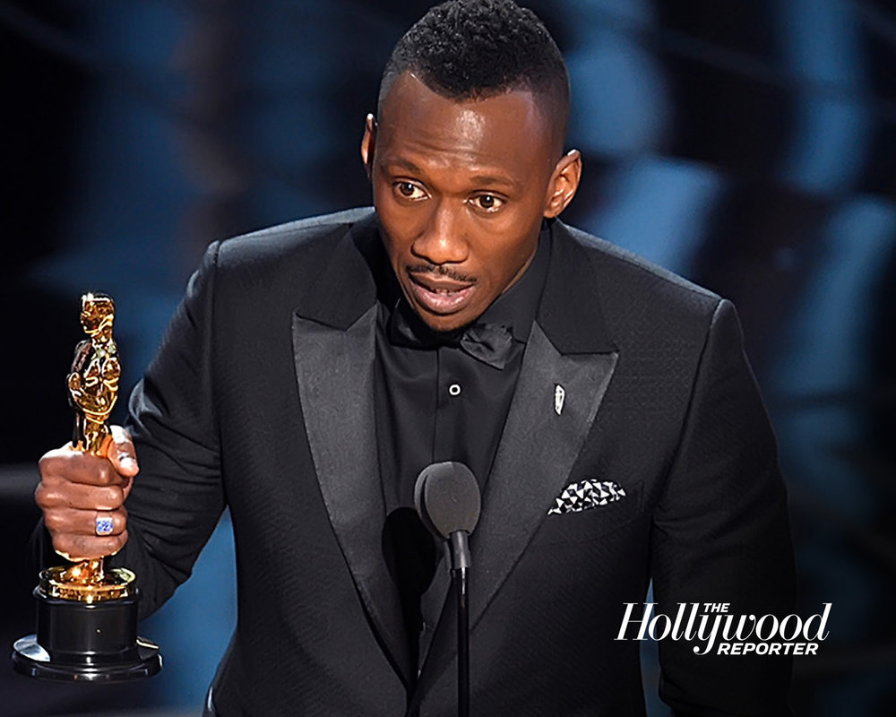 Kevin Winter/Getty Mahershala Ali picking up his best supporting actor award at the 2017 Oscars.