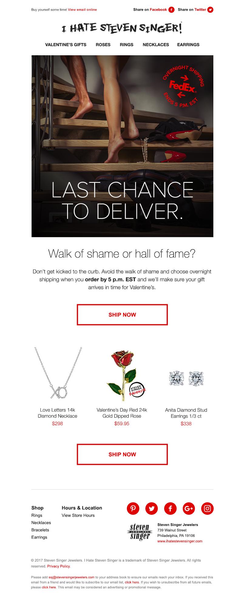 23baaa4e1 Digital Campaigns, Steven Singer Jewelers — Melanie Taube