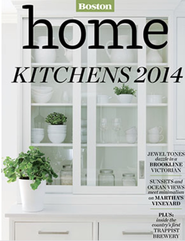 Boston Home Magazine, Kitchens Issue, 2014