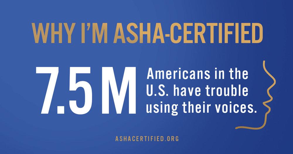 ASHA voice disorder slp