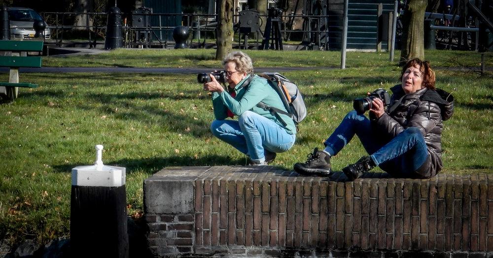 (Links) Lucie Booijink en (Rechts) Diny Heidenrijk