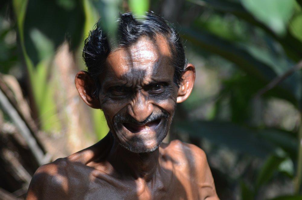 portret uit Sri Lanka