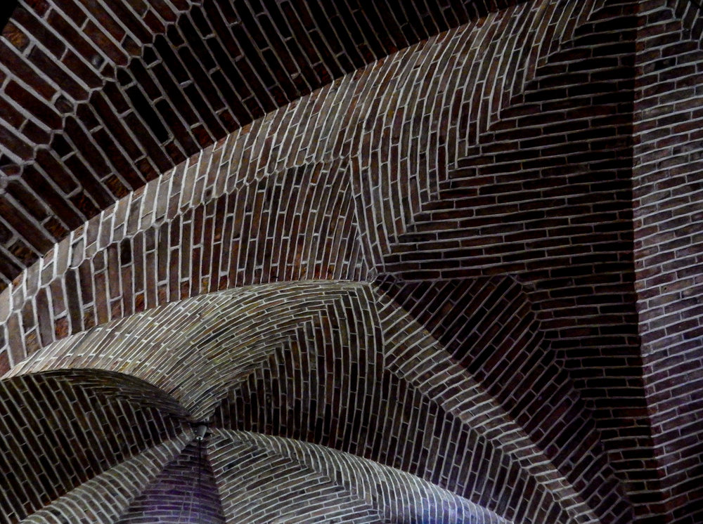 Brickwork in Abbey Sion