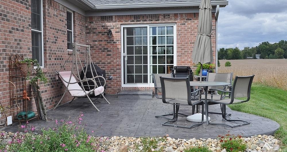 Appian Cobblestone, platinum Gray base, charcoal gray release 11
