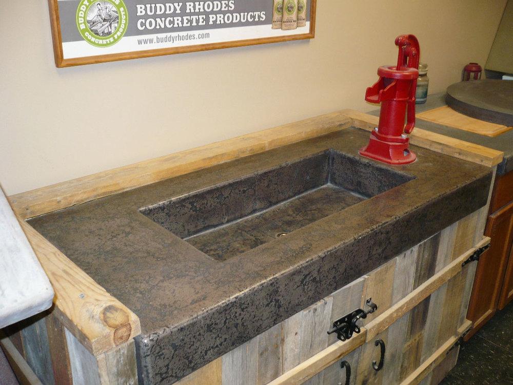 Precast pressed method Buddy Rhodes Coal & Chocolate