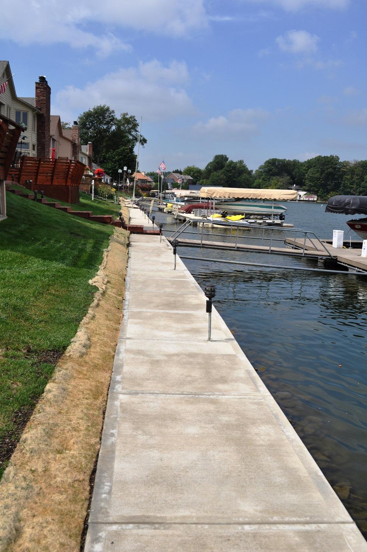 Lake Sidewalk, broom