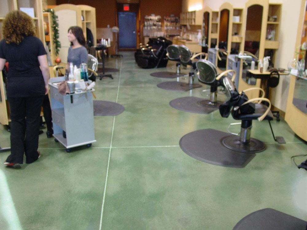 Rejuve Hair Salon Jade Acid Stain