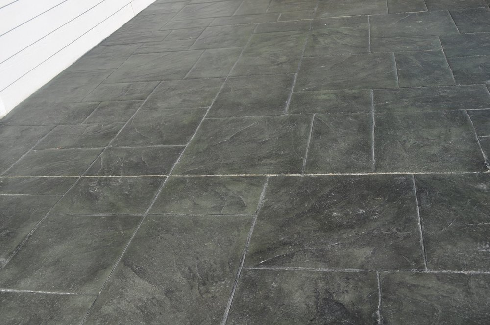 Large Ashlar Slate color, Slate green color and Charcoal Gray release