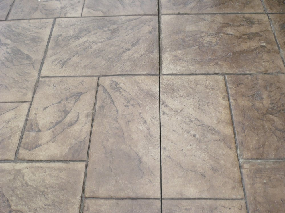 Large Ashlar Slate-Stone, Oyster White, Autumn Brown, Fire pit