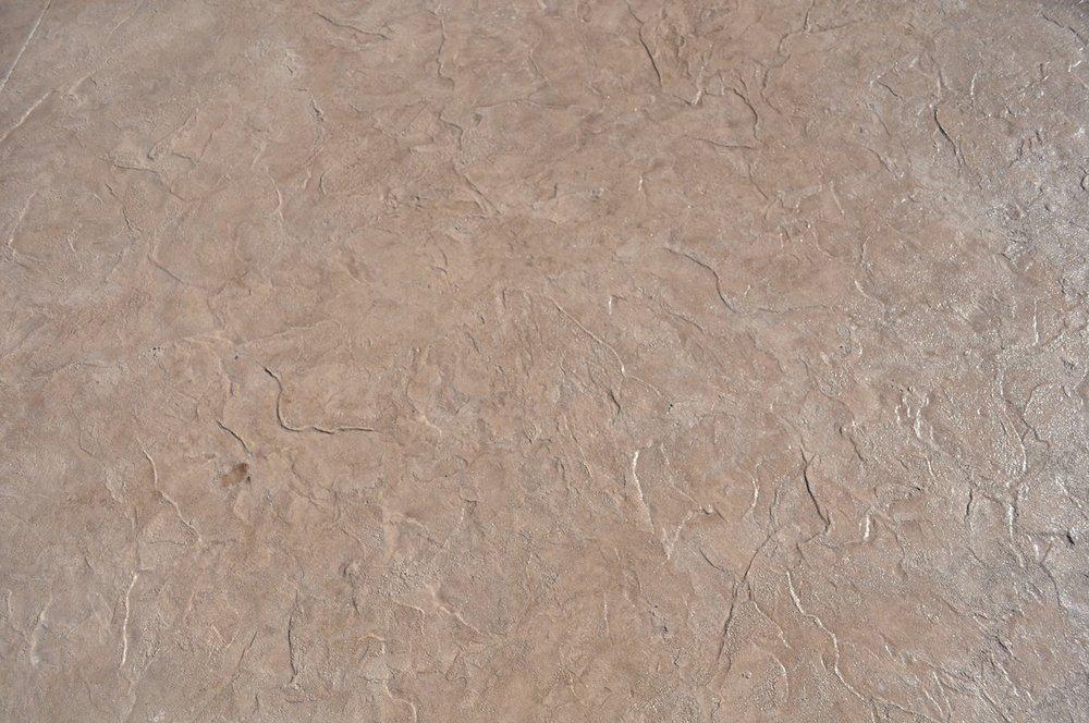 Textured Roman Slate Pattern, Bisque, Autumn Brown