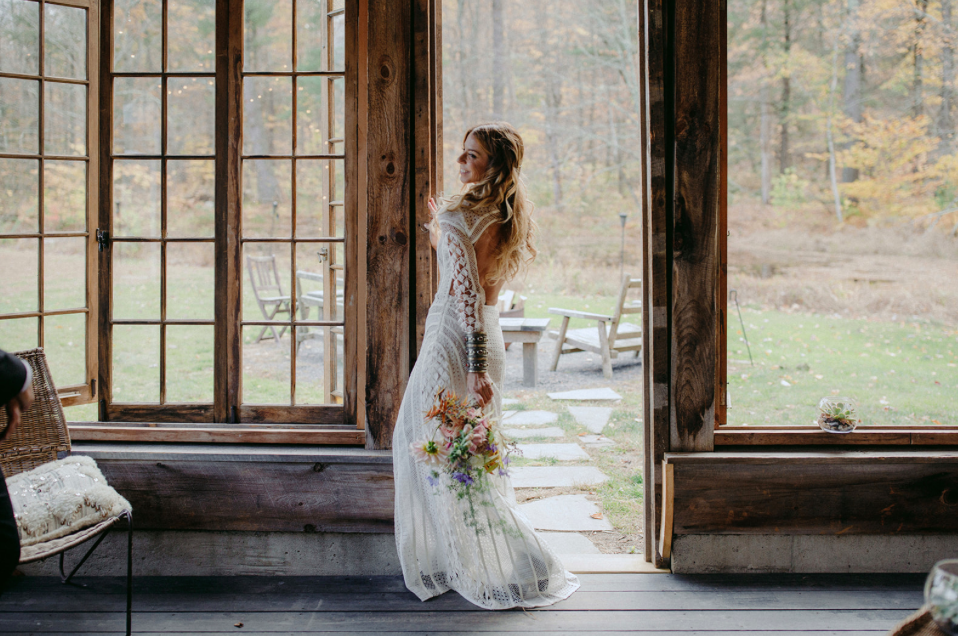 Jessica @ Foxfire Mountain House | Mt. Tremper, NY  Photo: Samm Blake