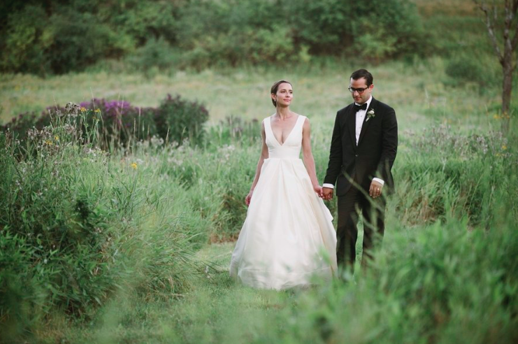 Michelle + David @ Blooming Hill Farm | Monroe, NY  Photo: Basia Ambroziak