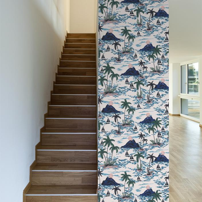 Swiss Family Robinson Removable Wallpaper