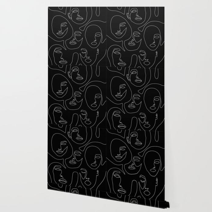 Faces in Dark Wallpaper