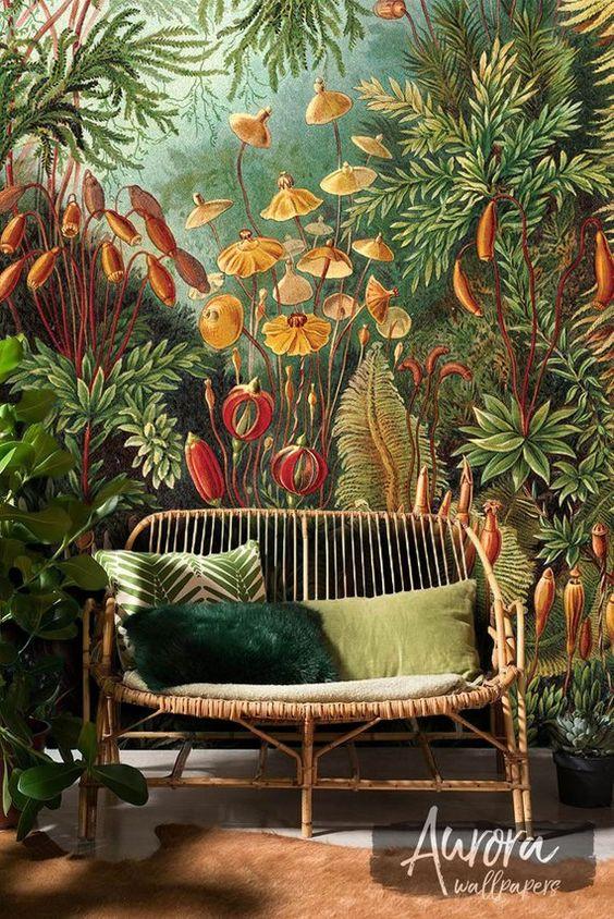 Amazonian Jungle removable wallpaper