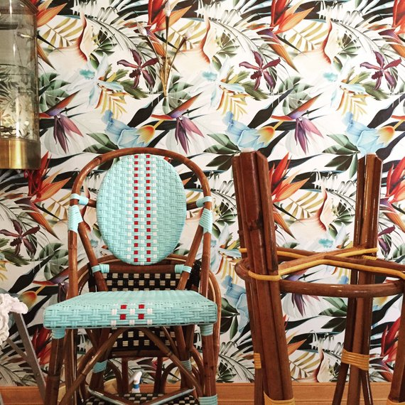 Tropical wallpaper, botanical wallpaper