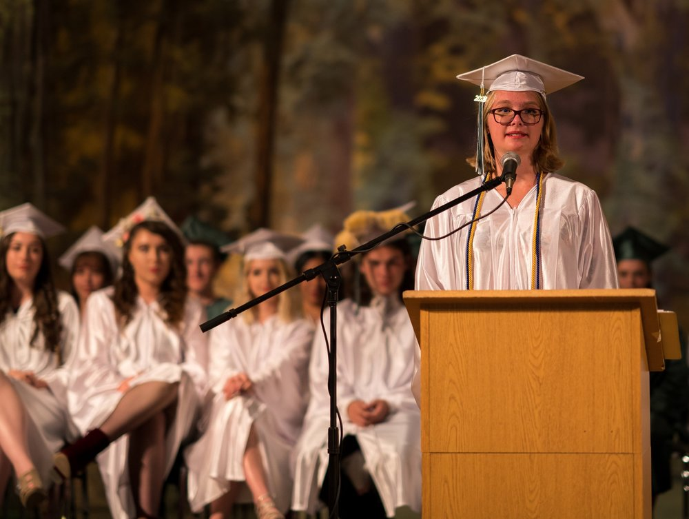 Graduation Speech - Emily Buxengaard(Valedictorian, Class of 2018, enrolled at Smith College)