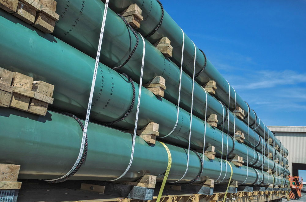 Coated Pipe at Berg Steel Pipe