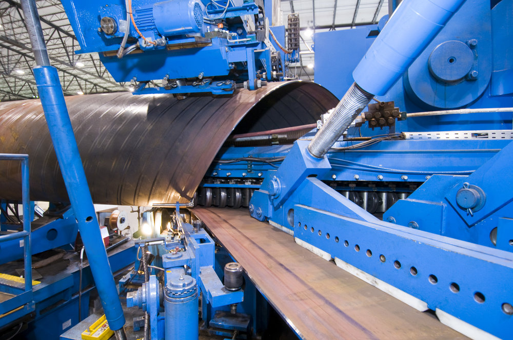 Pipe Creation Process at Berg Pipe
