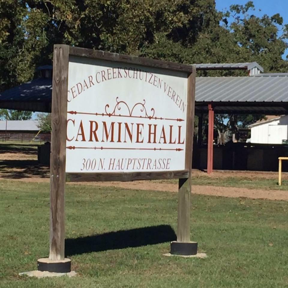 Carmine Hall - (713) 553-4122