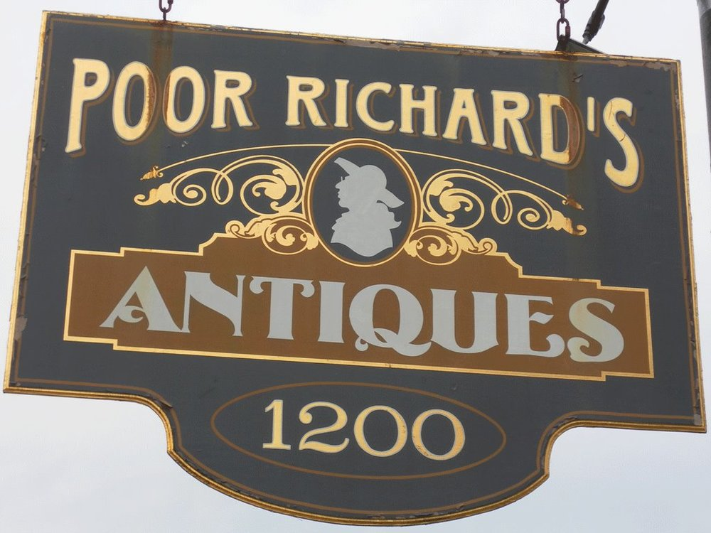 Poor Richard's Antiques Inc. - (850) 434-0880
