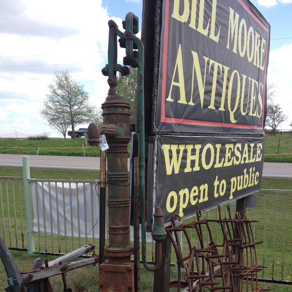 Bill Moore Antiques - (760) 587-1300