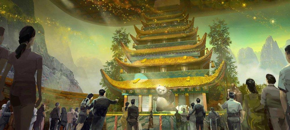 """Dreamworks Experience,"" Animatronics/Media/SFX Show, Sands Macau Resort"