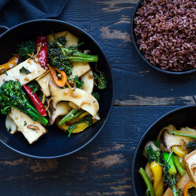Recipe: Five-Spice Braised Tofu Stir Fry