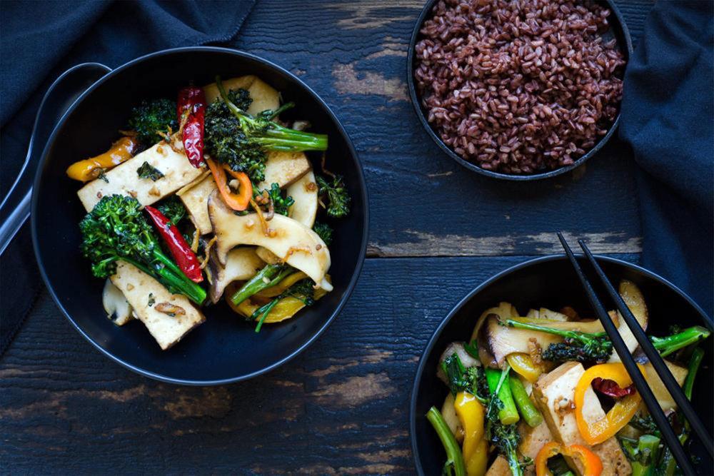 Inspiration: Five-Spice Braised Tofu Stir Fry