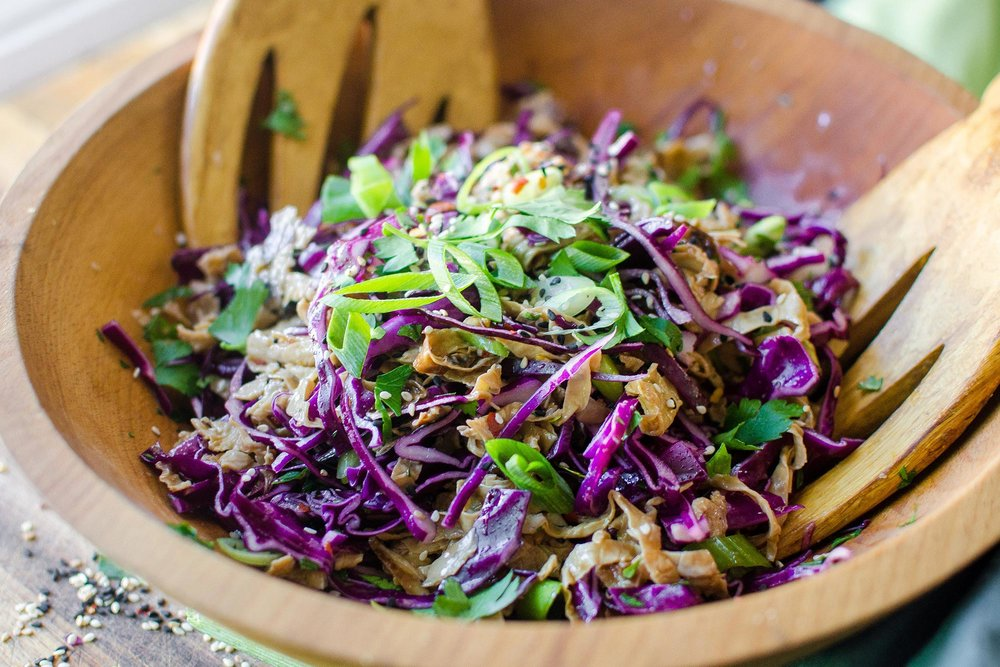 Inspiration: Spicy Yuba Noodle Slaw