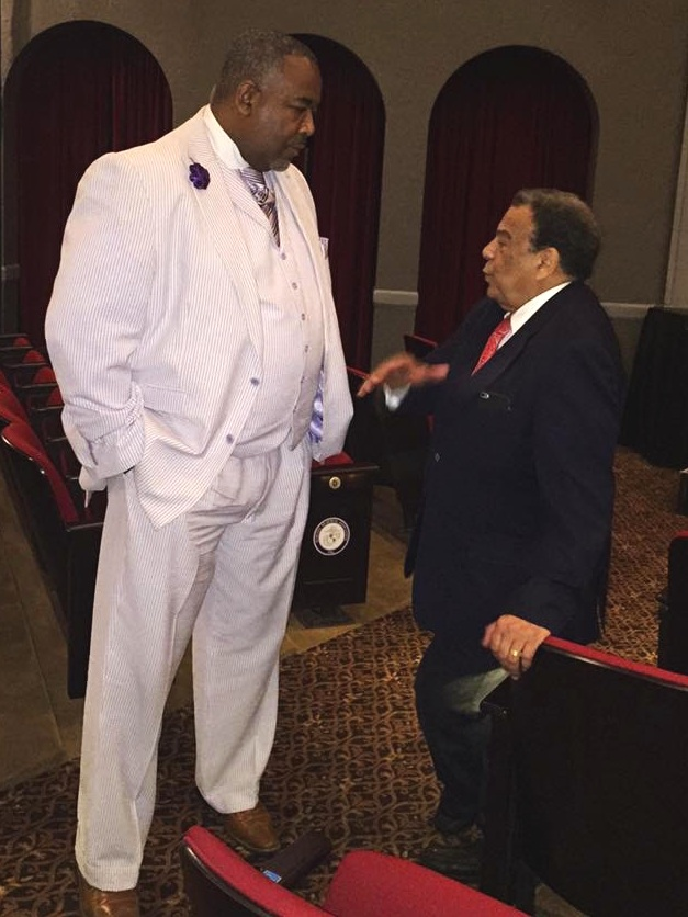 John A. Heath and the Honorable Andrew Young
