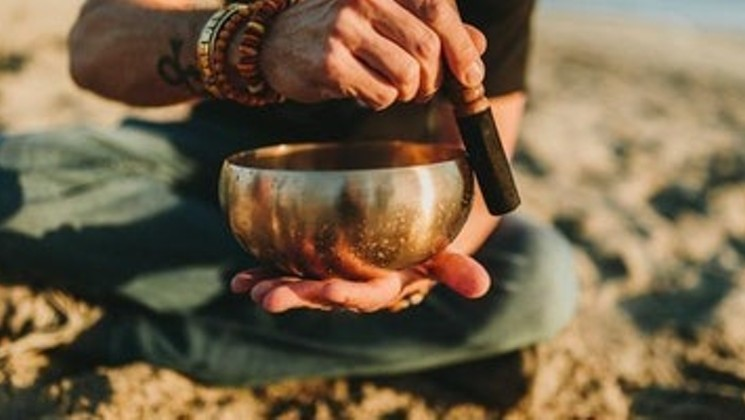 sound healing - Sound helps to facilitate shifts in our brainwave state by using entrainment. Entrainment synchronizes our fluctuating brainwaves by providing a stable frequency which the brainwave can attune to. By using rhythm and frequency, we can entrain our brainwaves and it then becomes possible to down-shift our normal beta state (normal waking consciousness) to alpha (relaxed consciousness), and even reach theta (meditative state) and delta (sleep; where internal healing can occur).This same concept is utilized in meditation by regulating the breath, but with sound it's the frequency that is the agent which influences the shift.Choose our Sound Healing service and take your mind and body to another place.